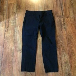 Ann Taylor navy crops, like new
